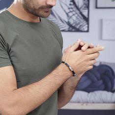 Bracelet Pacome Acier Blanc - Bracelets Homme | Marc Orian