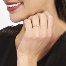 Bague Sandrine Or Jaune Diamant - Parure de mariage Femme   Marc Orian