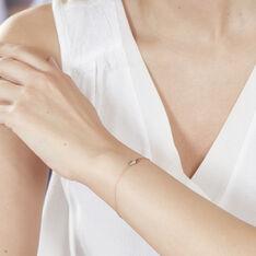 Bracelet Clodie Or Rose Diamant - Bracelets chaînes Femme | Marc Orian