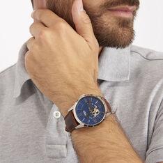 Montre Fossil Townsman Bleu - Montres automatique Homme | Marc Orian
