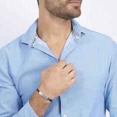Bracelet Raphael Acier Blanc - Gourmettes Homme | Marc Orian