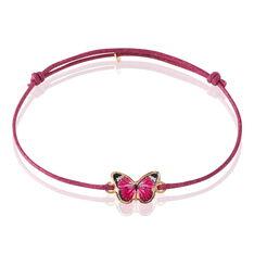 Bracelet Sulivia Papillon Or Jaune - Bracelets cordons Enfant | Marc Orian
