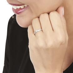 Bague Solitaire Alexandra Or Blanc Diamant - Bagues Solitaire Femme | Marc Orian