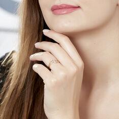 Bague Rosabelle Or Jaune Diamant - Bagues Femme   Marc Orian