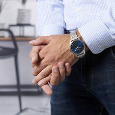Montre Hugo Casual Bleu - Montres classiques Homme | Marc Orian