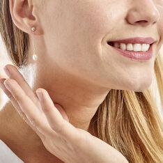 Boucles D'oreilles Pendantes Adriette Or Jaune Perle De Culture - Boucles d'oreilles Pendantes Femme   Marc Orian