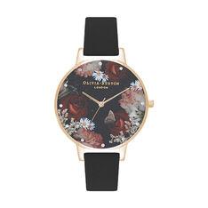 Montre Olivia Burton Winter Blooms Noir - Montres Femme | Marc Orian