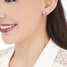Boucles D'oreilles Puces Kirsten Or Jaune Rubis Et Diamant - Clous d'oreilles Femme | Marc Orian