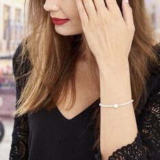 Bracelet Or Jaune Perle De Culture - Bracelets chaînes Femme | Marc Orian