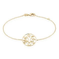Bracelet Resli Plaque Or Jaune - Bracelets chaînes Femme | Marc Orian