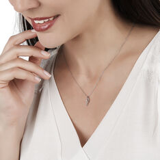 Collier Tylane Or Blanc Diamant - Colliers Femme | Marc Orian