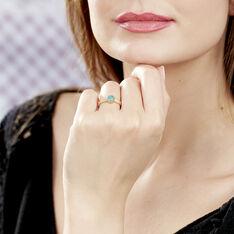 Bague Adonia Plaque Or Jaune Verre - Bague fantaisie Femme | Marc Orian