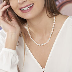 Collier Or Perle De De Culture - Parure de mariage Femme | Marc Orian