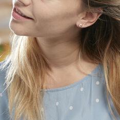 Boucles D'oreilles Puces Ursulina Or Jaune Perle De Culture - Clous d'oreilles Femme | Marc Orian