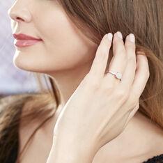 Bague Serena Or Blanc Diamant - Parure de mariage Femme | Marc Orian