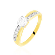 Solitaire Maxine Or Jaune Oxydes - Bagues Solitaire Femme | Marc Orian