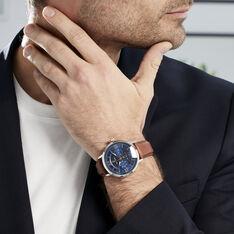 Montre Pierre Lannier Collection Beaucour Bleu - Montres classiques Homme | Marc Orian