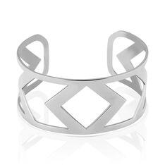 Bracelet Jonc Deanna Acier Blanc - Bracelets jonc Femme | Marc Orian