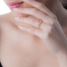 Bague Merane Plaque Or Jaune Oxyde De Zirconium - Bague fantaisie Femme | Marc Orian