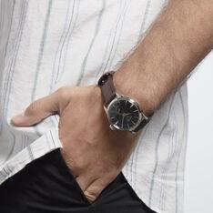 Montre Seiko Presage Marron - Montres automatique Homme   Marc Orian
