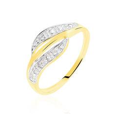Bague Calypso Or Jaune Diamant - Bagues Femme | Marc Orian