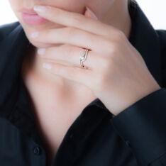 Bague Or Et Diamant - Bagues Solitaire Femme | Marc Orian