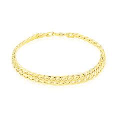 Bracelet Joline Maille Russe Or Jaune - Bracelets mailles Femme | Marc Orian