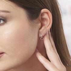 Boucles D'oreilles Pendantes Daria Cœur Or Jaune - Boucles d'oreilles Pendantes Femme   Marc Orian