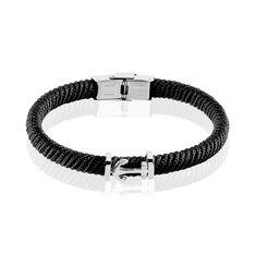 Bracelet Solal Acier Blanc - Bracelets cordons Homme | Marc Orian