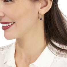 Boucles D'oreilles Pendantes Severiane Or Jaune Perle De Culture - Boucles d'oreilles Pendantes Femme | Marc Orian