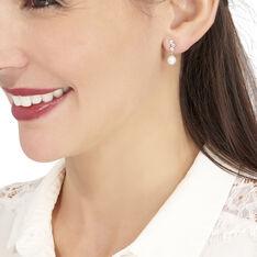 Boucles D'oreilles Pendantes Taiss Or Jaune Perle De Culture - Boucles d'oreilles Pendantes Femme | Marc Orian