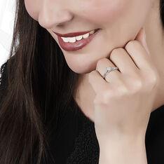 Bague Kate Or Blanc Et Diamant - Parure de mariage Femme | Marc Orian