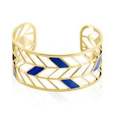 Bracelet Jonc Azat Acier Jaune - Bracelets jonc Femme | Marc Orian