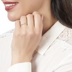 Bague Solitaire Ivanka Or Blanc Diamant - Bagues Solitaire Femme | Marc Orian