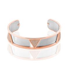 Bracelet Jonc Andrina Acier Rose - Bracelets jonc Femme | Marc Orian
