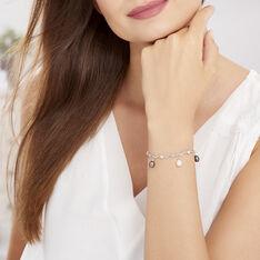 Bracelet Salomee Argent Blanc Perle De Culture - Bracelets chaînes Femme | Marc Orian