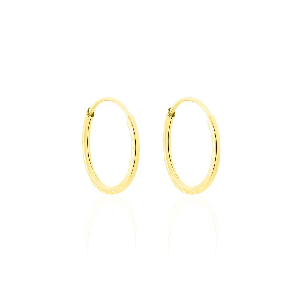 Wellingsale 14k Tri Couleur Or 3 mm Boucles d/'oreilles Créoles diamètre 20 mm