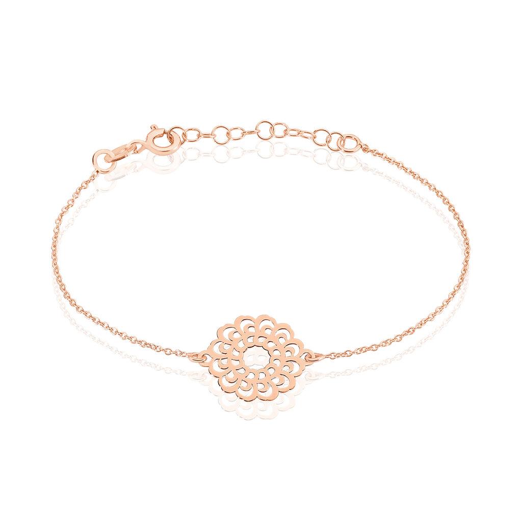 Bracelet Marva Argent Rose - Bracelets chaînes Femme   Marc Orian