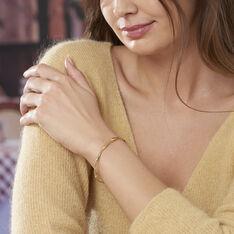 Bracelet Jonc Anaisaae Torsade Or Jaune - Bracelets jonc Femme | Marc Orian