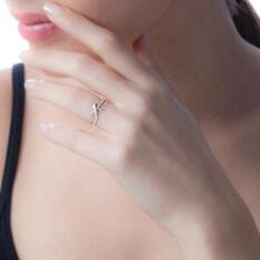Bague Emma-lise Or Blanc Diamant - Bagues Femme | Marc Orian