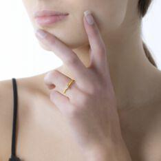 Bague Solitaire Samantha Or Jaune Diamant - Bagues Solitaire Femme   Marc Orian