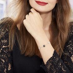 Bracelet Lucia Cera Argent Blanc Perle De Culture Et Céramique - Bracelets chaînes Femme | Marc Orian