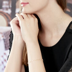 Bracelet Maryeme Infini Or Jaune Perle De Culture - Bracelets chaînes Femme | Marc Orian