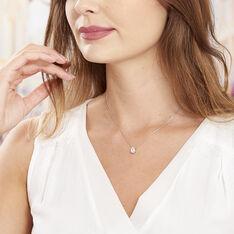 Collier Cherice Argent Blanc Oxyde De Zirconium - Colliers Femme | Marc Orian