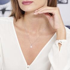 Collier Briony Argent Blanc Oxyde De Zirconium - Colliers Femme   Marc Orian