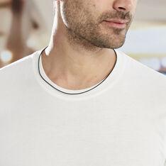 Collier Sanata Argent Blanc - Sautoirs Unisexe | Marc Orian