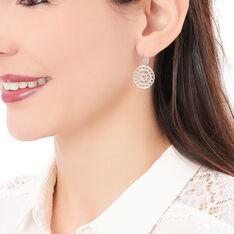 Boucles D'oreilles Pendantes Celso Plaque Or Jaune - Boucles d'oreilles Pendantes Femme   Marc Orian