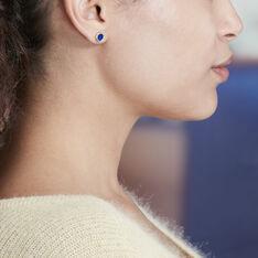 Boucles D'oreilles Or Jaune Florica Cercle - Clous d'oreilles Femme | Marc Orian