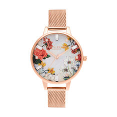 Montre Olivia Burton Sparkle Florals Blanc - Montres Femme | Marc Orian