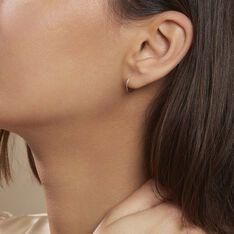 Créoles Muses Flexibles Or Jaune - Boucles d'oreilles Créoles Femme | Marc Orian